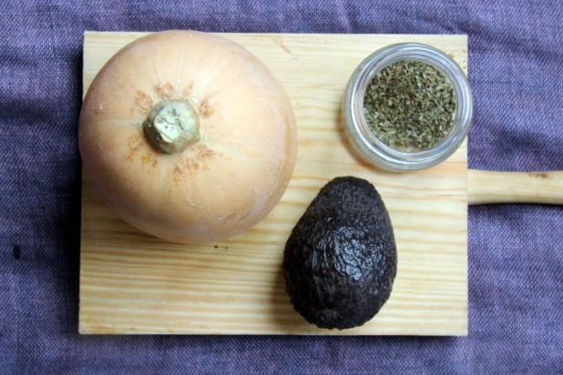 receta aguacate y calabaza bebé vegano